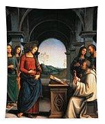 The Vision Of St Bernard Tapestry