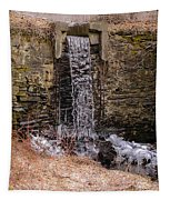 The Waterfall At Hagy's Mill Tapestry