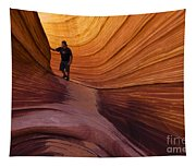 The Wave Beauty Of Sandstone 1 Tapestry