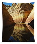 The Wave Reflected Beauty 2 Tapestry