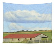 The Whole Farm To Himself Tapestry