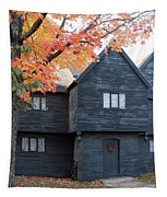 The Witch House Of Salem Tapestry