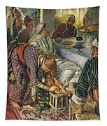 The Woman With The Box Of Ointment Tapestry