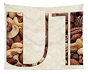 The Word Is Nuts Tapestry