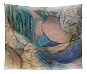 The World On My Shoulders Tapestry