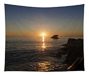 The Wreck Of The Atlantus - Cape May New Jersey Tapestry