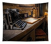 The Writer's Desk Tapestry
