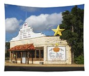 The Yellow Rose Of Crawford Texas Tapestry