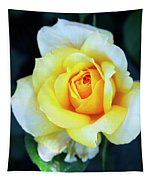 The Yellow Rose Palm Springs Tapestry