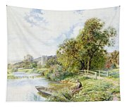 The Young Angler Tapestry