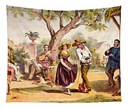 The Zapateado - National Dance, 1840 Tapestry