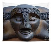 Theater Mask Tapestry