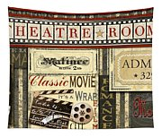 Theatre Room Tapestry
