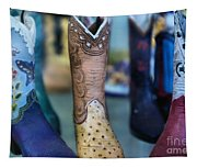 These Boots Are Made For Walking Tapestry