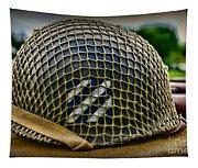 Third Infantry Division Helmet Tapestry