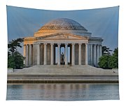 Thomas Jefferson Memorial At Sunrise Tapestry