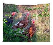 Three Amigos Happy Birthday Husband Tapestry