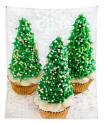 Three Christmastree Cupcakes  Tapestry