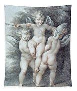Three Cupids Tapestry