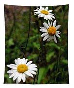 Three Daisies Tapestry