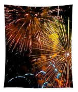 Three Explosions Tapestry