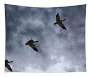 Three Geese Tapestry