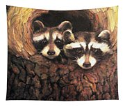 Three Is A Crowd Tapestry