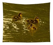 Three Little Duckies Tapestry