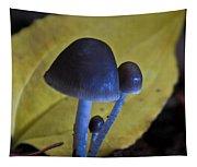 Three Little Mushrooms Tapestry