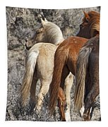 Three Long Tails Tapestry