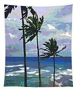 Three Palms Tapestry