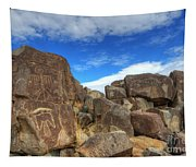 Three Rivers Petroglyphs 2 Tapestry