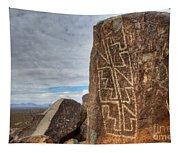 Three Rivers Petroglyphs 4 Tapestry