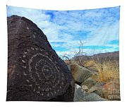 Three Rivers Petroglyphs 5 Tapestry
