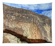 Three Rivers Petroglyphs 6 Tapestry