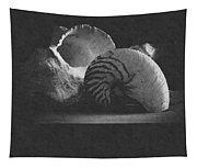 Three Seashells Tapestry