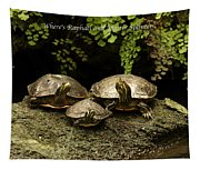 Three Turtles Tapestry