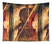 Three Violins Tapestry