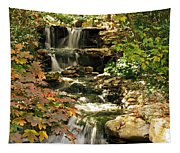Three Water Falls Tapestry