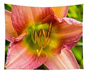 Throat Of Lily Tapestry