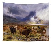 Through Glencoe By  Way To The Tay Tapestry
