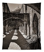 Through The Arches Tapestry