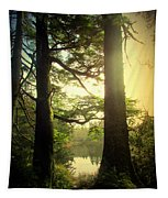 Through The Forest To The Lake Tapestry