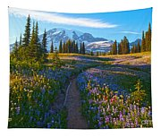 Through The Golden Meadows Tapestry