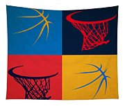 Thunder Ball And Hoop Tapestry