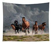 Thunder On The Plains Tapestry