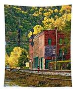 Thurmond Wv - Paint Tapestry