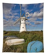 Thurne Dyke Windpump Norfolk Tapestry
