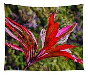 Red Ti Plant Tapestry