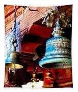 Tibetan Bells Tapestry